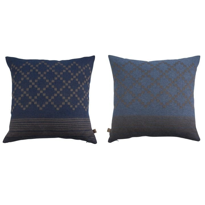 poduszki pokój dzienny dżinsowy niebieski etiko mette ditmer