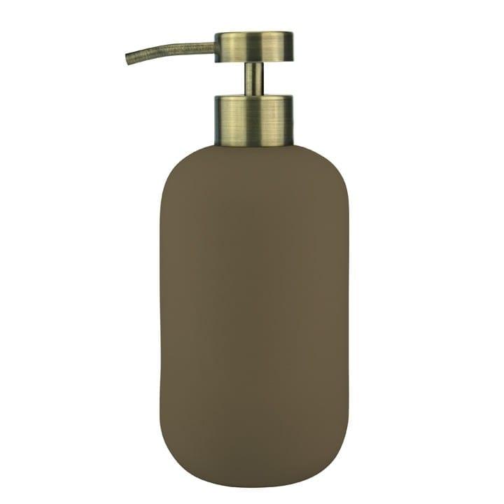 dozownik do mydła wisoki brązowy lotus mette ditmer