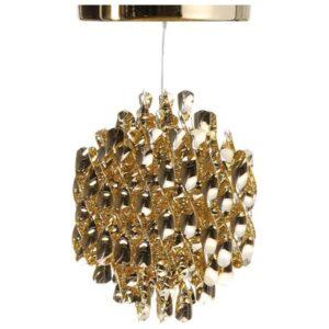 Lampa wisząca Spiral SP1 złoty Verner Panton