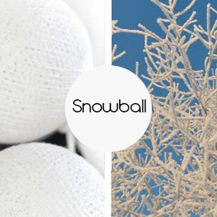 Kulki Snowball Happy Lights