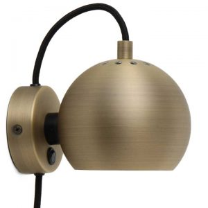 Lampa Ball Wall metalik Frandsen