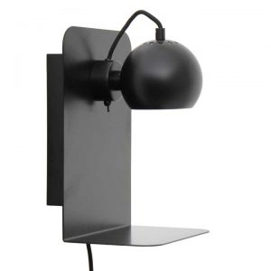 Lampa ścienna Ball z usb Frandsen