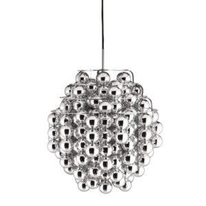 Lampa wisząca Ball Silver Verner Panton