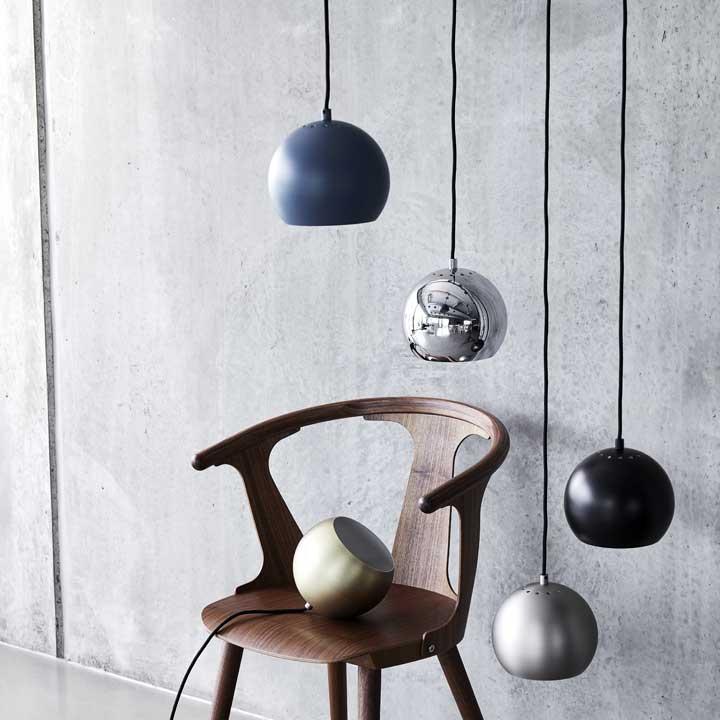 Lampa wisząca Ball 18cm połysk Frandsen