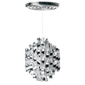 Lampa wisząca Spiral SP1 srebrna Verner Panton