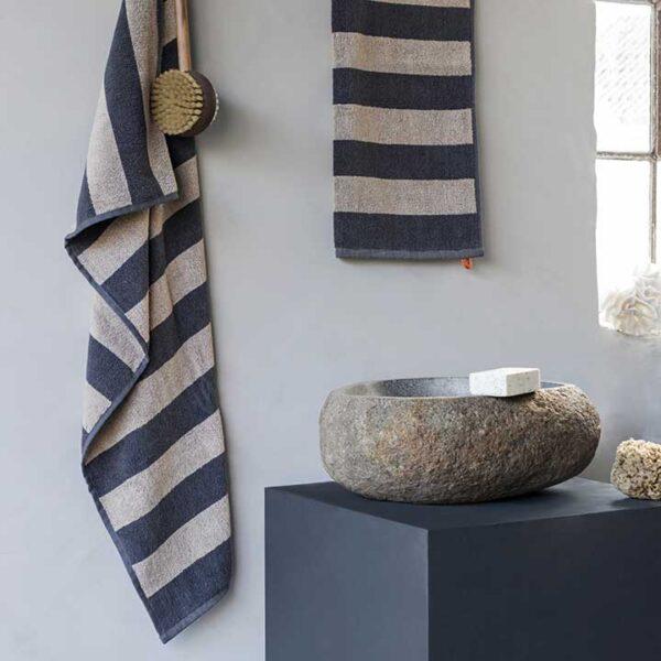 Ręcznik Aros piaskowy Mette Ditmer