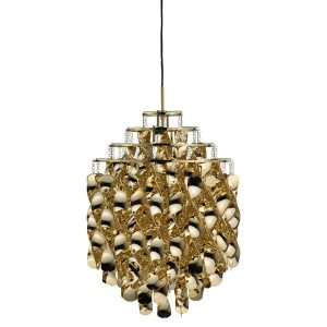 Lampa wisząca Spiral SP01 złoty Verner Panton