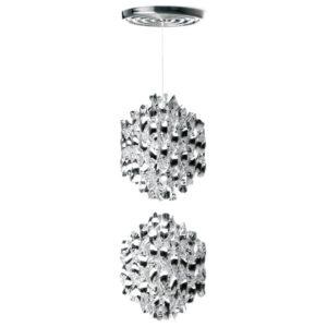 Lampa wisząca Spiral SP2 srebrna Verner Panton
