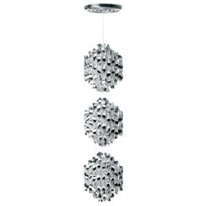 Lampa wisząca Spiral SP3 srebrna Verner Panton
